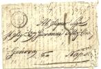 ITALY SARDINIA 1861 ENTIRE ALBENGA TO NAPOLI POOR - Sardinië