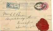 GB London, 26-7-1937 Registered Cover To Southampton - Postwaardestukken