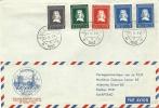 Netherlands Airmail Culemborg To Kaapstad South Africa With Nice Jan Van Riebeeck Stamps - Brieven En Documenten