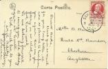 Belgium  Schaerbeek 27-2-1911 PPC  Bruxelles Maison De Roi To Cheshire GB Niet Bestellen Op Zondag - 1910-1911 Caritas