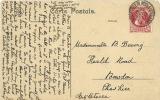 Belgium  Schaerbeek 17-10-1911 PPC  Bruxelles Eglise Ste. Marie To Cheshire GB - België
