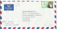 Bahrain, Airmail Cover To Pakistan, King Hamad,  2002, July 15 - Bahrain (1965-...)