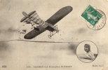 AUBRUN SUR MONOPLAN BLERIOT - Aviatori