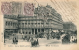 PARIS - Gare Saint Lazare - Hôtel Terminus (belle Animation) - Metro, Estaciones