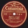 Disque 78 Trs - Columbia BF 6 - THEATRE - Marcel PAGNOL - MARIUS  Scène Entre César Et Marius - J. RAIMU Et P. FRESNAY - 78 Rpm - Schellackplatten