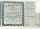 Exposition Internationale Arts Décoratifs Et Industriels Modernes Paris 1925, Bon A Lot De 50 Francs - Actions & Titres