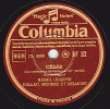 Disque 78 Trs - Columbia BF 32 - THEATRE - Marcel PAGNOL - CESAR  La Confession De Panisse - J. RAIMU, CHARPIN, ..... - 78 Rpm - Schellackplatten
