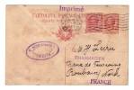 Italie Trieste Schuchardt  Entier Postal Fleurs Montenegro Dalmatie 1923 Affranchissement Mixte Pharmacie Roubaix Lecru - 1900-44 Victor Emmanuel III