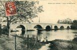 CPA 45 ORLEANS BORDS DU LOIRET PONT ST NICOLAS 1911 - Orleans
