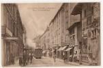 VILLEFRANCHE-s/-SAONE  -  Rue Victor-Hugo  -   Train , Commerces - Villefranche-sur-Saone