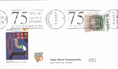 Carta Expofil Barcelona 1995. Rodillo 75 Volta Cliclista.  Ciclismo - 1931-Hoy: 2ª República - ... Juan Carlos I