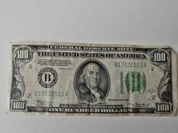 100$ 1934 FEDERAL RESERVE NOTE   NEW YORK - Verzamelingen