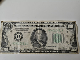 100$ 1934 FEDERAL RESERVE NOTE   ST LOUIS - Collections
