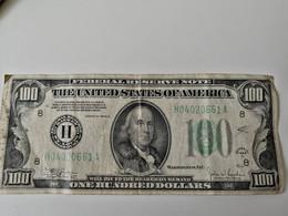 100$ 1934 FEDERAL RESERVE NOTE   ST LOUIS - Verzamelingen