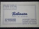 37 Ste-RADEGONDE-en-TOURAINE - Carte De Visite - HÔTEL ROBINSON - Chemin Des Rochettes - Visiting Cards