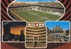 Stadio - Stade - Stadium - Milano - San Siro ( Colori A.C. ) - Calcio