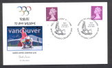GREAT BRITAIN - GRANDE-BRETAGNE 2011. SPECIAL POSTMARK. TRIBUTE TO AMY WILLIAMS. WINTER OLYMPIC CHAMPION 2010 - Invierno 2010: Vancouver