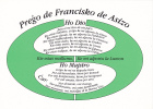 (AKE 68) Esperanto Card Prayer Of St Francis Of Assisi - Pregxo De Francisko El Asizo - Esperanto
