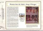 "FDC ""soie"" GRAND Format COB  N° 2090 - Procession Du Saint-Sang - BRUGGE - Oblitér: "" BRUGGE - 30/4/83 "" - FDC"
