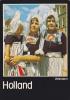 (AKE 71) Esperanto Card Traditional Dress Volendam - The Netherlands / Nederlando - Esperanto