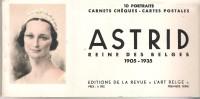 Belgique - Astrid Reine Des Belges - 1905/35 - Carnet 10 Cates Postales - Belgique