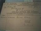 England Carlisle Invoice Express And Examiner 1894 - Regno Unito