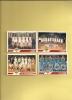 CARTES  BASKET PANINI  N° 140 - 149 -151 - 153 - Sports