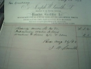 England Carlisle Invoice 1893 Plumber - Regno Unito