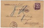 Levure, Pâtisserie, Boulangerie / (Hefe). Carte Remboursement Avec 64 B. 1896 - Alimentation