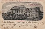 4985# ARAD NOUVEAU PALAIS DE JUSTICE 1899 UDVÖZLET ARADROL JGAZSAGÜGYI PALOTA LEVELEZÖ LAP LIPOVA LIPPA HONGRIE MAGYAR - Hungría