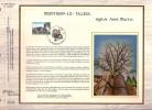 """3 FDC """"soie"""" GRAND Format COB  N° 2138/40 - BRUXELLES, TIELT Et  MONTIGNY-LE-TILLEUL - Oblit.: """"  23/6/84 """" - FDC"""