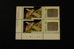 Canada 1441-42 Plate Block Of Four LL Canada In Space Shuttle Hologram MNH 1992 A04s - Full Sheets & Multiples