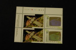 Canada 1441-42 Plate Block Of Four UL Canada In Space Shuttle Hologram MNH 1992 A04s - Full Sheets & Multiples