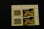 Canada 1441-42 Plate Block Of Four UR Canada In Space Shuttle Hologram MNH 1992 A04s - Full Sheets & Multiples