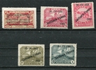 """Italy/Fiume  WWI Occupation Unused Overprint """"1922"""",""""L"""" - 8. Occupazione 1a Guerra"""
