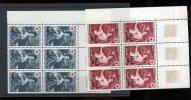 381/382  REUNION 1968  Croix Rouge 9x **   Cote 23 E En 2005 - Zonder Classificatie
