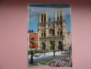 CARTE MAXIMUM MAXIMUM CARD CATHEDRALE NOTRE DAME DE PARIS FRANCE - Cartes-Maximum