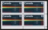 CANADA   Scott #  613**  VF MINT NH Blk. Of 4 - 1952-.... Règne D'Elizabeth II