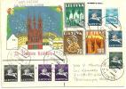 Registered Cover Lithuania To Honduras 1992 - Lithuania
