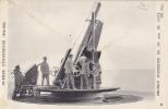 GUERRE EUROPEENNE 1914-1915  - OBUSIER SCHNEIDER DE 293 M / M DE COTE - Guerre 1914-18