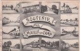 Cpa - Souvenir De Camp De Mailly - Vues Multiples - Caserme