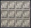 France Taxe Maury 10,  Neuf ** ,block A 12 - 1859-1955 Postfris