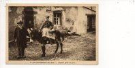 Auvergne - Les Auvergnats Chez Eux / Départ Pour La Foire (en âne,mule Ou Mulet ) - Costumes
