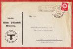 Brief, Heilanstalt Weinsberg, EF Dienstmarke, PSST Weissenhof Ueber Weinsberg, SoSt, Nach Heilbronn 1938 (41859) - Lettres & Documents