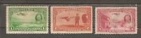Nicaragua Scott # C 236-37,40 Used. Airmail Stamp 1939 - Nicaragua