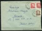 "Poland Cover 1951 Cancel ( Skierniewice 27.1.51) Overprint ""Groszy"" T5 - 1944-.... Republic"