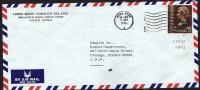 1975  Air Mail Letter To USA  $2 - Hong Kong (...-1997)