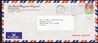 1990     Air Mail Letter To USA   $1.30 - Hong Kong (...-1997)