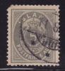 1876  Chiffre Et Couronne  6 A  Oblit. - Oblitérés