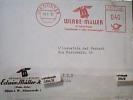 GERMANY  Rossa  WERBE MULLER CHIMICA VB1961 DL704 - [7] West-Duitsland